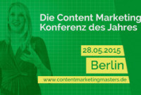 Content Marketing Symposium goes Content Marketing Masters