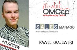 Wir bitten zum Gespräch: Pawel Krajewski von SALESmanago