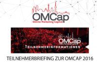 Teilnehmerbriefing zur OMCap 2016
