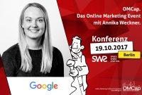 Wir stellen vor: Annika Weckner von Google